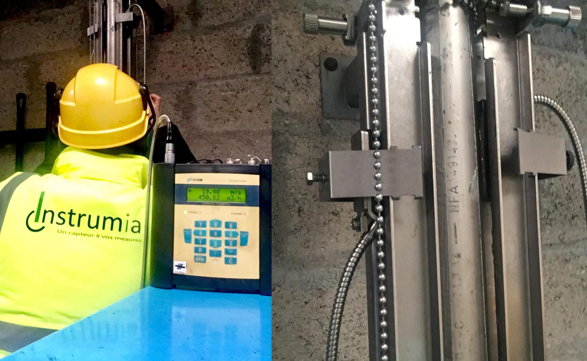Installations débitmètre air comprimé