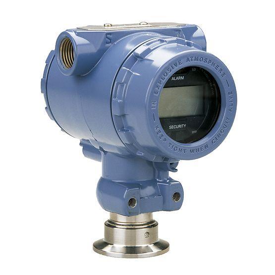 Capteur de pression clamp Emerson Rosemount 2090F