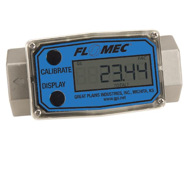 Image débitmètre à turbine série G2