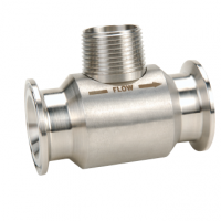 Image débitmètre à turbine G high precision version raccord hygiénique