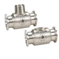 Image Débitmètre à turbine G high precision version raccord hygiénique haute température